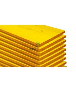 Pannello Giallo Edilizia per Armatura mm27x500