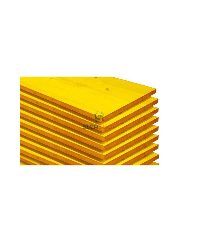 Pannelli gialli edilizia e armatura pannelli in abete per edilizia - Pannelli gialli tavole armatura ...