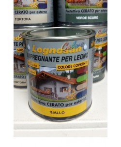 VELECA IMPREGNANTE IDROREPELLENTE PER LEGNO ALL'ACQUA LEGNOSAN COLORS 750ML Giallo