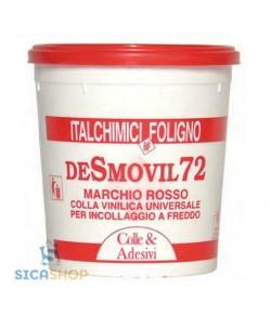 COLLA VINILICA UNIVERSALE LEGNO ADESIVO LEGNO ITALCHIMICI DESMOVIL72 gr.750