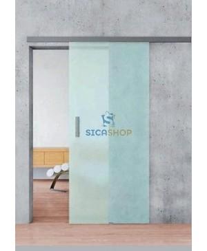 Villes Binario da 200 cm per Porte Scorrevoli a Vetro - Sica Shop