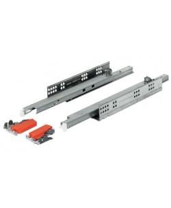 Guide per cassetti tandem plus 60 cm ad estrazione totale