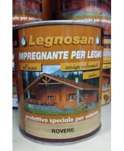 Veleca Legnosan Impregnante Per Legno Pronto All'uso x Esterno Rovere 750 ML