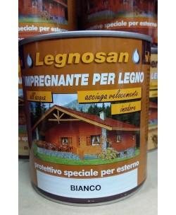 Veleca Legnosan Impregnante Per Legno Pronto All'uso x Esterno Bianco 750 ML