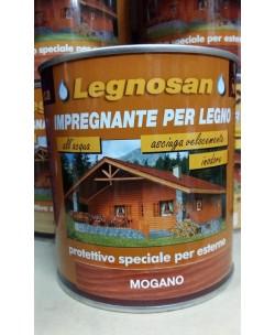 Veleca Legnosan Impregnante Per Legno Pronto All'uso x Esterno Mogano 750 ML