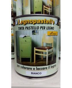 VELECA LEGNOPASTELLO x COLORARE / LACCARE EFFETTO SHABBY CHIC 750ML Bianco