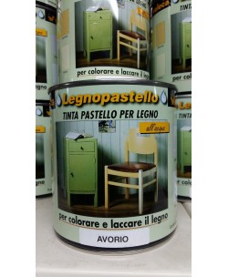 VELECA LEGNOPASTELLO x COLORARE / LACCARE EFFETTO SHABBY CHIC 750ML Avorio