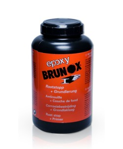 ANTIRUGGINE CONVERTITORE RUGGINE CON PRIMER BRUNOX EPOXY ml1000