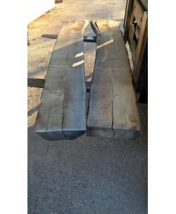 2 Tavole tavoloni frassino europeo mm 100 x 2300 x larghezza mediata 60cm Pk5