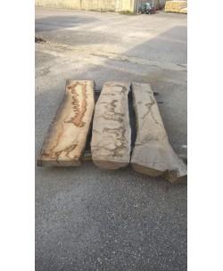 3 Tavole tavoloni frassino europeo mm 100 x 2200 x larghezza mediata 120cm - 3T