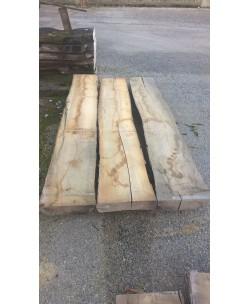 3 Tavole tavoloni frassino europeo mm 100 x 2400 x larghezza mediata 100cm - 2T