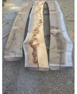 3 Tavole tavoloni frassino europeo mm 100 x 2400 x larghezza mediata 90cm - 1T