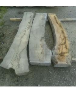 3 Tavole tavoloni frassino europeo mm 100 x 2000 x larghezza mediata 90cm -F4