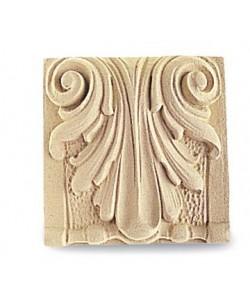 Fregio in Pasta di legno per Arredo e Restauri 8x8cm 4859