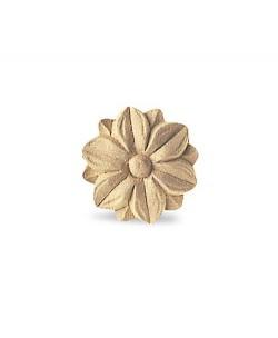 Fregio in pasta di legno diam.38mm per arredo e restauro 4843