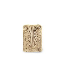 Fregio in pasta di legno 60x85mm per arredo e restauro 4868