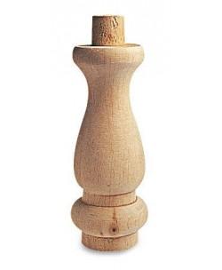 Piede in legno di Ontano per Mobili e Arredo