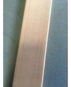 COPRIFILO PORTA MOSTRINA sp.mm10x70x2250 Noce Tanganika con 2 fughe