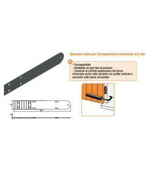 Spessore in Nylon per Fermapersiane Universale 2,5 mm