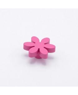 Pomello per mobile Fiore Bimbi colore Fuxia Diametro 56 mm