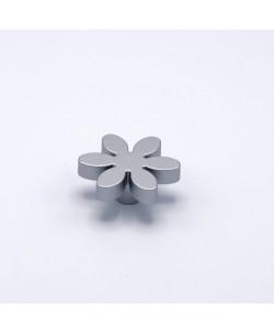 Pomello per mobile e cassetti Fiore Bimbi Alluminio Ø 56 mm