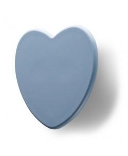 Maniglia Bambini tipo Cuore Interasse 32 mm azzurro