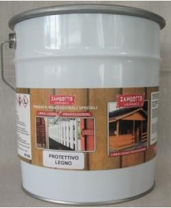 Protettivo per legno trasparente solvente per interni ed esterni LT 2,5