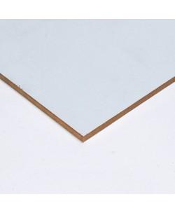 4 pezzi Pannelli HDF Laccato Bianco Monofacciale mm 4 x 2070 x 690