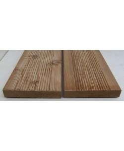 Pavimento per Esterno Decking Larice Siberico mm 20 x mm 115 x 2000 pezzi 90