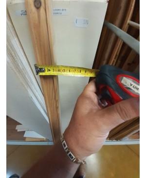 Terminale listello legno Pino mm 40 x mm 45 x mm 2000/2100 1conf. 8 pezzi