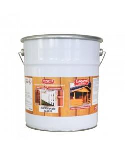Impregnante cerato a solvente legno interni ed esterni 5 lt Bianco
