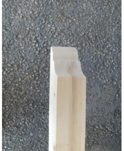 Traversone per pensilina Abete Lamellare sezione mm 90 x mm 90