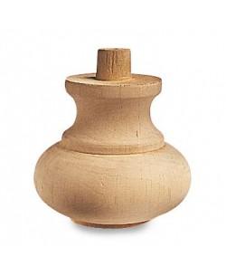 Piede in legno art. 03.002