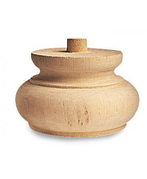 Piede in legno art. 03.0015