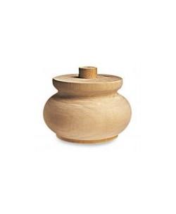 Piede in legno art. 03.0017
