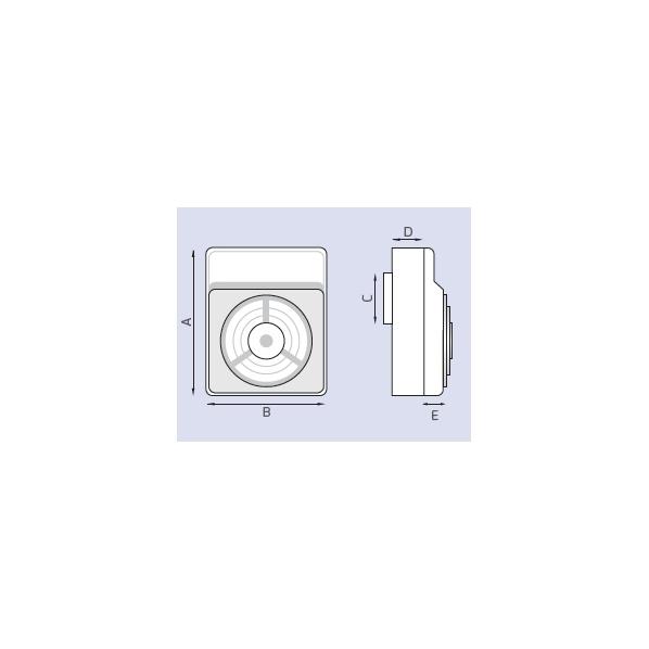 aspiratore da parete serie VS