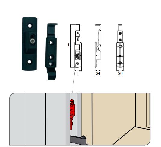 scheda fermapersiana auto verticale